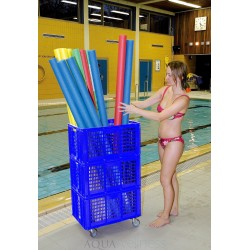 Pool Noodles, holder til 40 stk